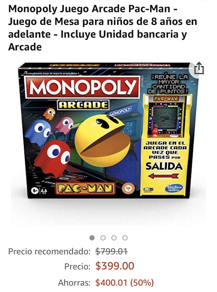 Amazon: Monopoly Arcade PacMan