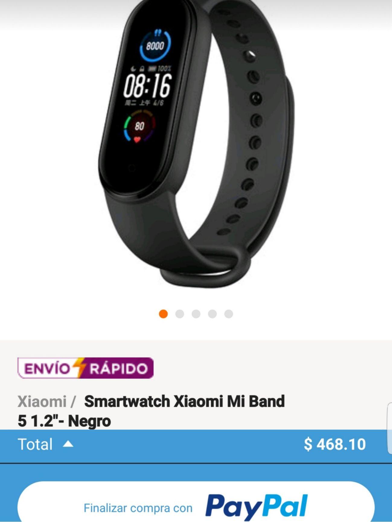 Linio App: Xiaomi Mi Band 5