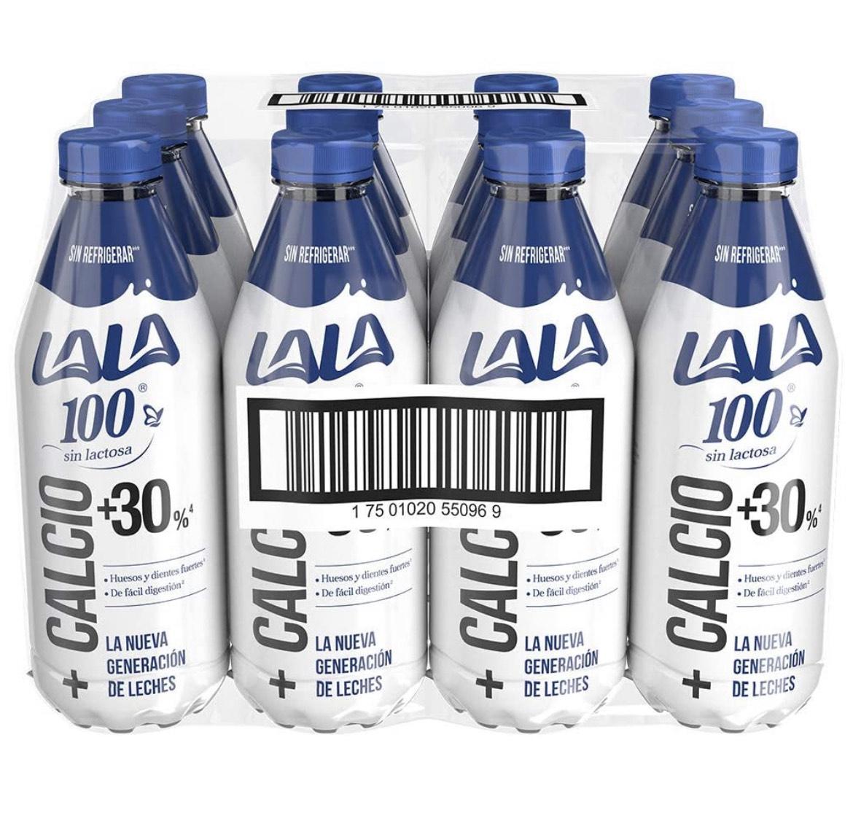 Amazon: Lala Leche UHT 100 sin Lactosa Semidescremada, 1 L, 12 Piezas ,LEER DESCRIPCIÓN