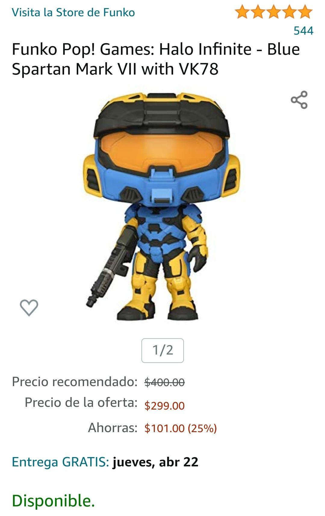 Amazon: Funko Pop! Games: Halo Infinite