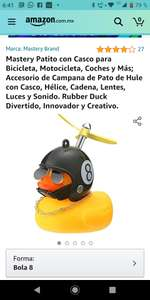 Amazon: PATITO CON CASCO