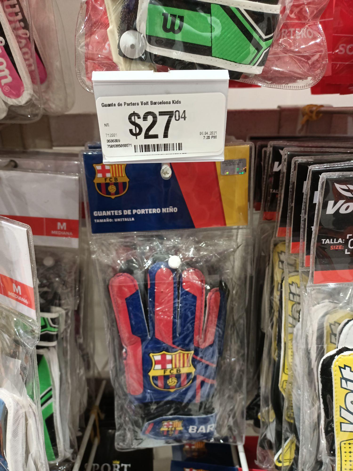 Chedraui guantes de portero niño