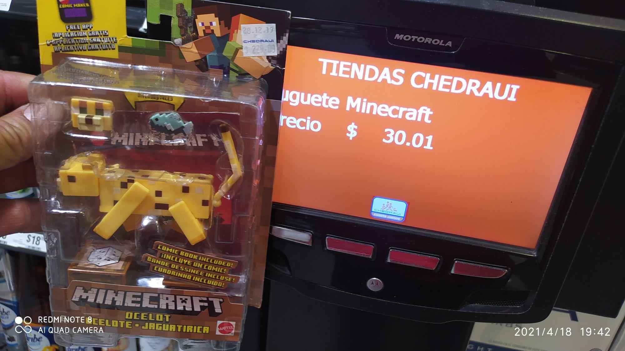 Chedraui Minecraft ocelote