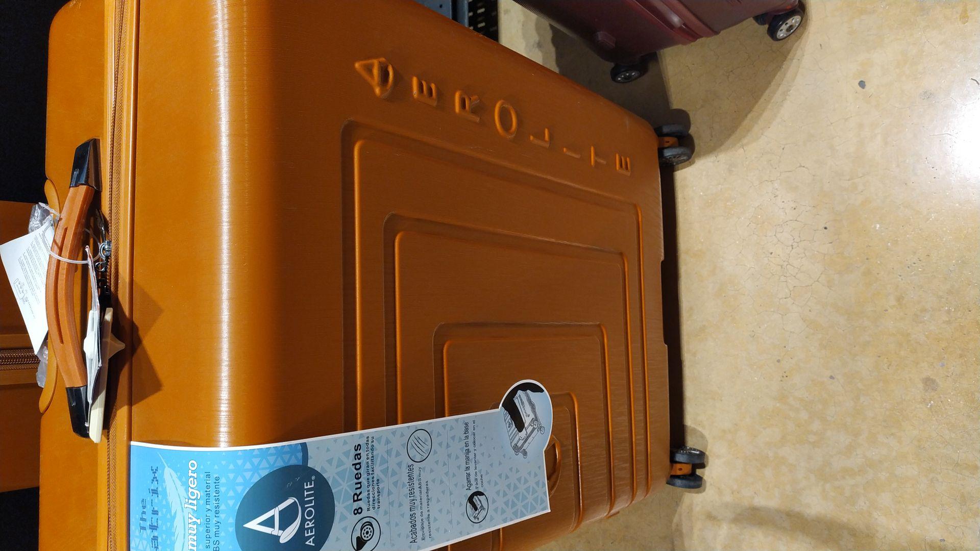 Chedraui: maletas de plástico para viaje primera liquidación