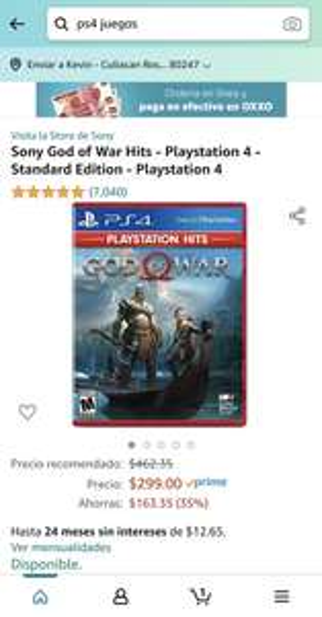 Amazon: God of War PS4 Hits