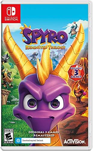 Amazon: Juego Spyro Trilogia Remastered para Nintendo switch