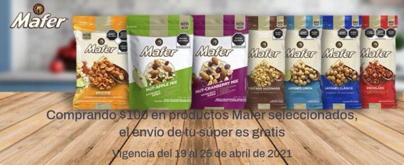 Chedraui: Envío gratis en super en la compra de $100 en productos Mafer