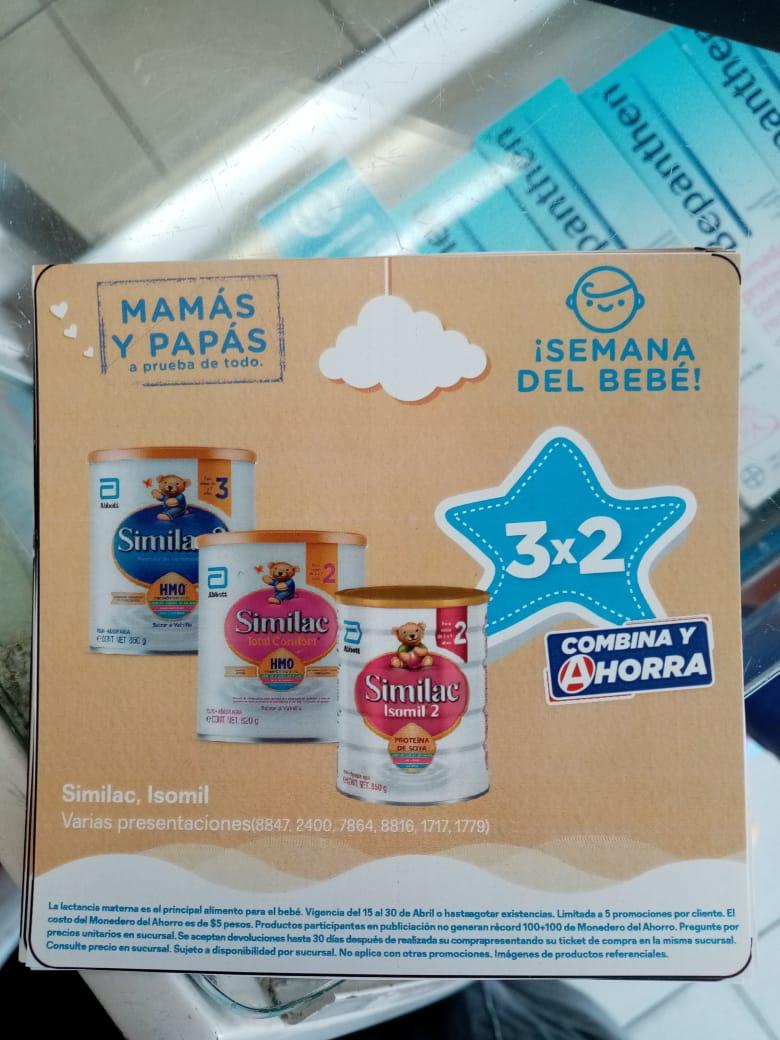 Farmacias del Ahorro: 3x2 en Fórmulas Infantiles SIMILAC