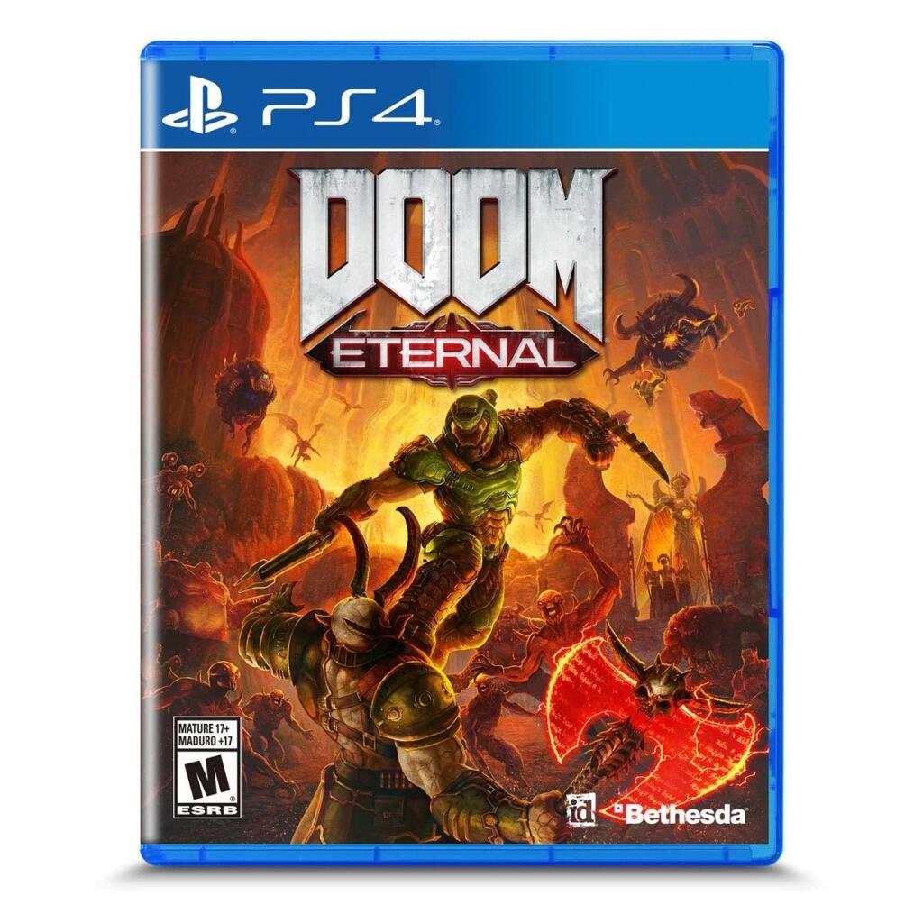 Amazon: DOOM ETERNAL PS4 [Importado]