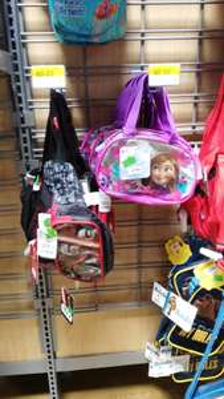 Walmart Salina Cruz: bolsitas frozen $90.02 , cangureras $60.02