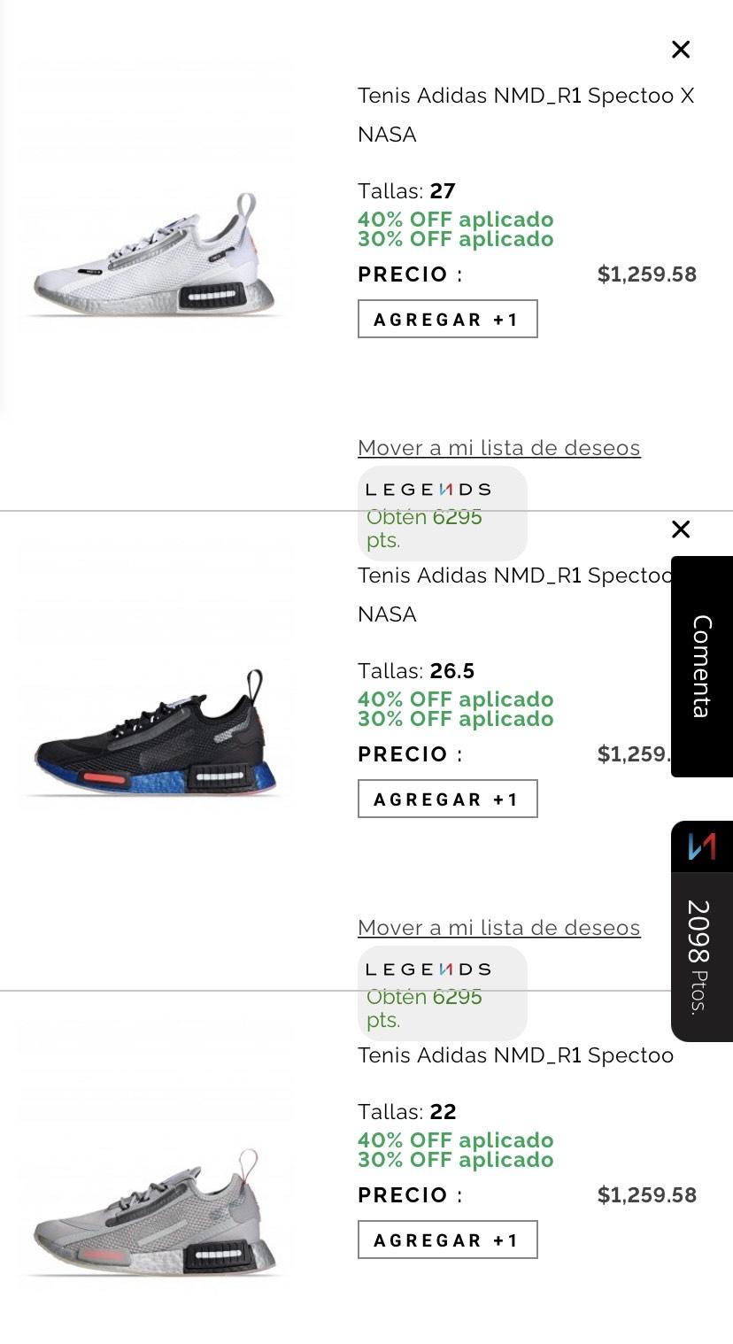 Innvictus: Adidas nmd aún más baratos (comprando 3)