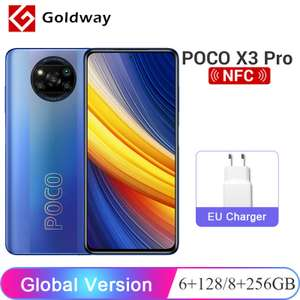 AliExpress: Global Version POCO X3 Pro VERSION 8GB 256GB por Goldway