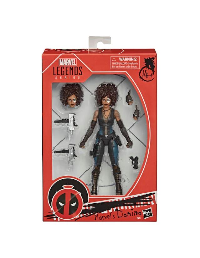 Liverpool: Marvel Legends: Domino de Deadpool2