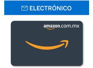 American Express: Certificado electrónico de Amazon a mitad de costo en puntos