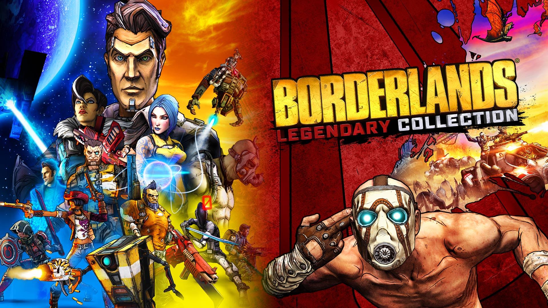 Nintendo Eshop: Borderlands Legendary Collection