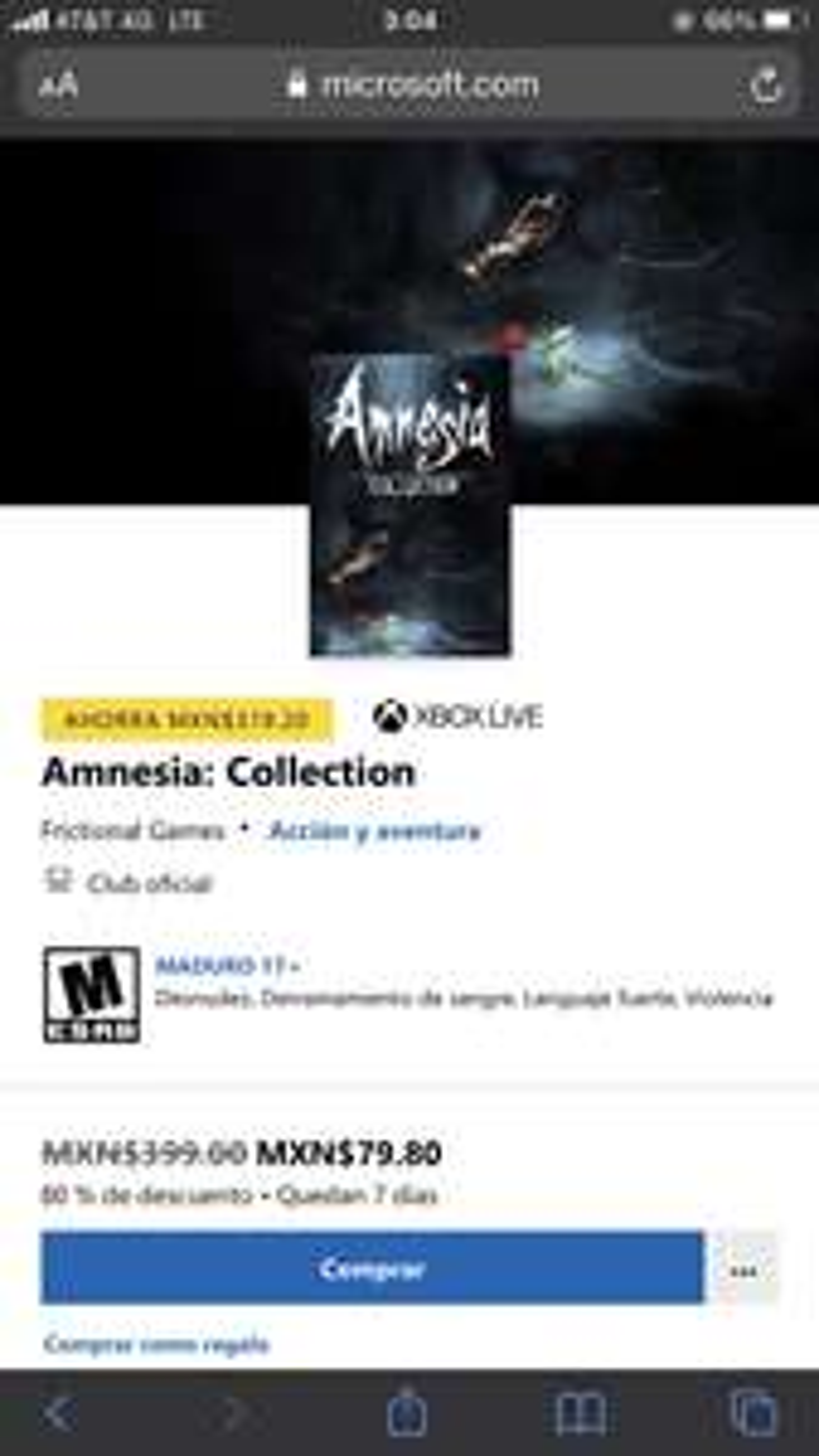 Xbox, Bundle Amnesia: Collection Xbox One/Series X|S