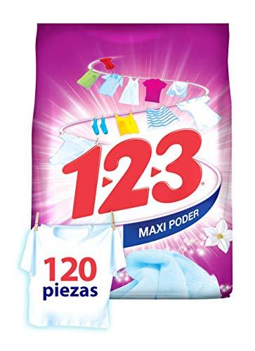 Amazon: Detergente 1-2-3 Maxi Poder Con Suavizante Y Jazmín 900 gr