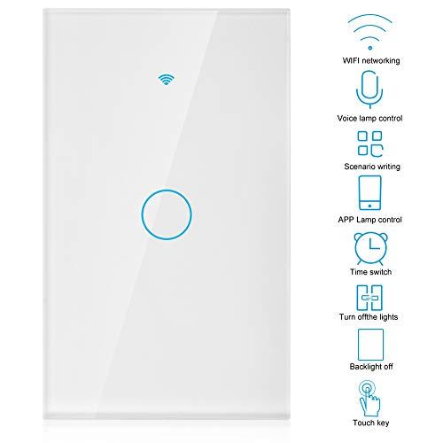 Amazon: Interruptor de luz Inteligente compatible Alexa y Google. Envío gratis con Prime.