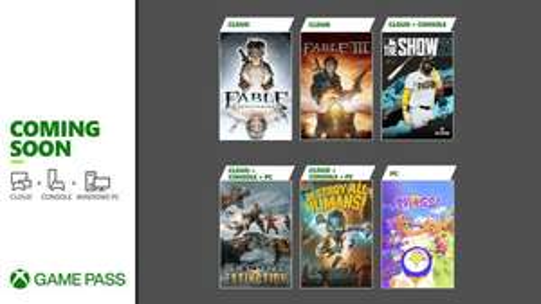 Xbox: Nuevos juegos game pass