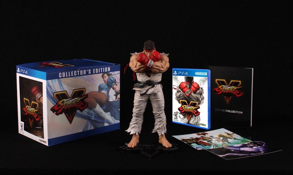 Amazon: Street Fighter V Collector's Edition para PS4, ahora vendido y enviado por Amazon México
