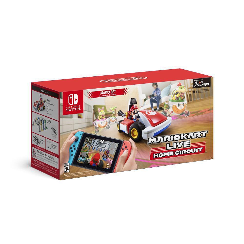 Elektra: Mario Kart Live: Home Circuit - Mario ($1,199) o Luigi ($1,499) - Nintendo Switch pagando con Santander
