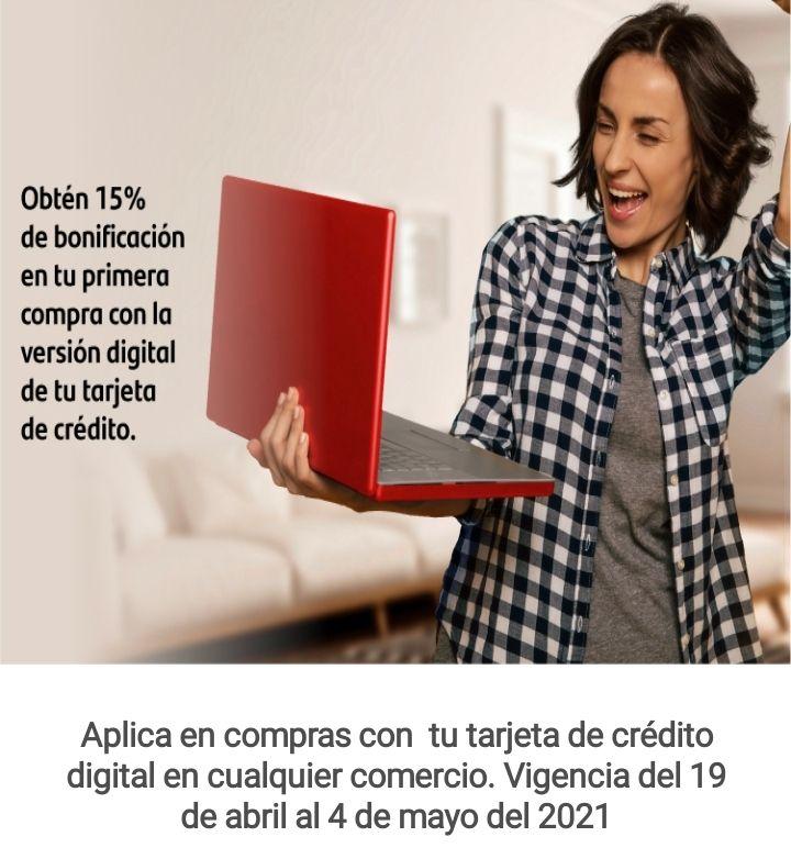 Santander 15% bonificación en tarjeta digital