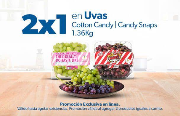 Sam's Club: Uvas Candy 1.36kg al 2x1