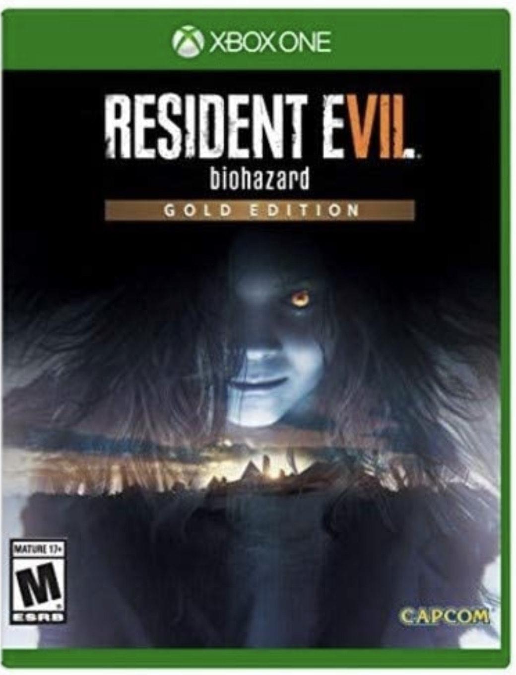 Amazon: Resident Evil 7: Biohazard - Gold Edition - Xbox One
