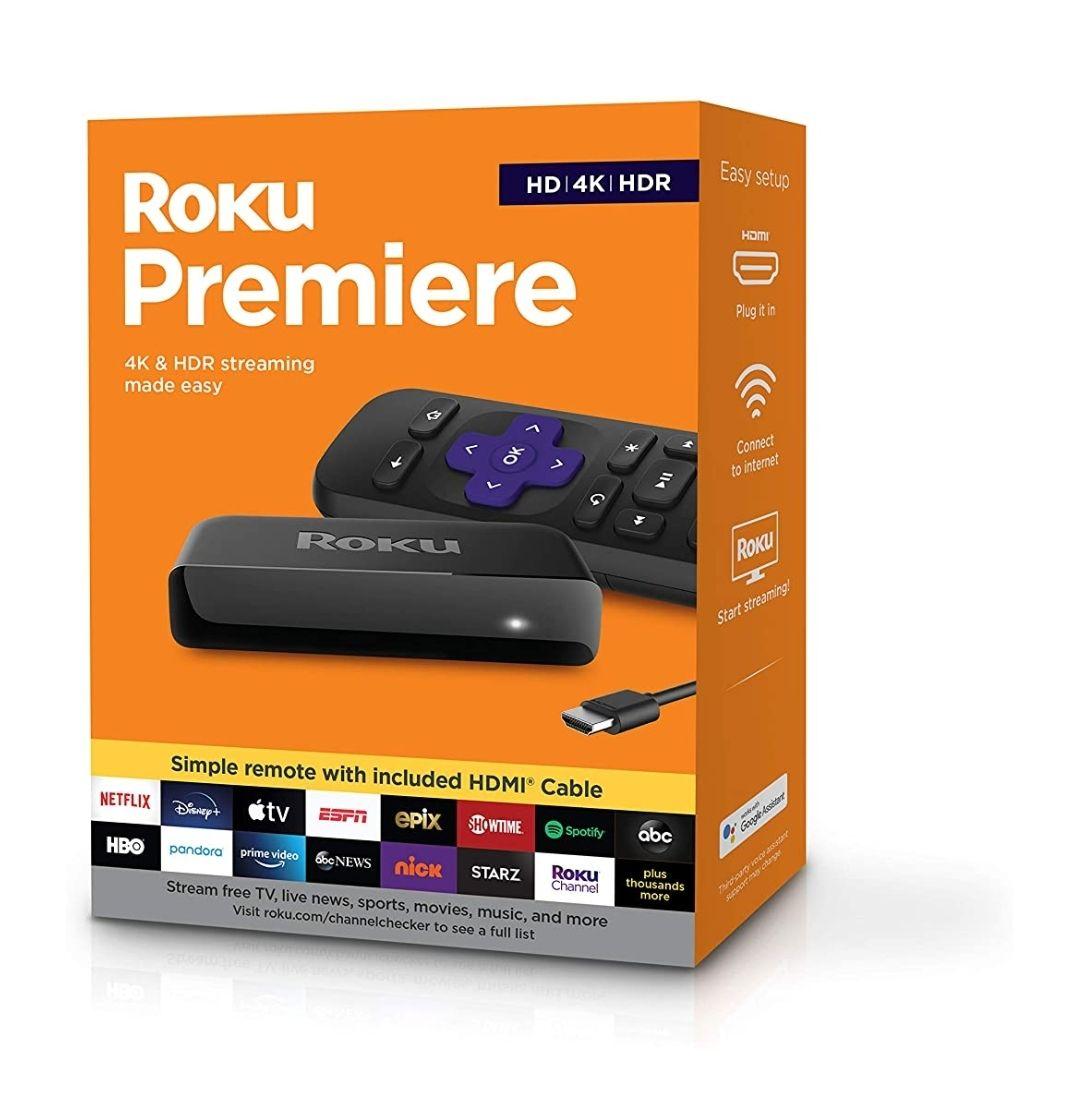 Amazon: Roku Premiere Streaming HD 4K