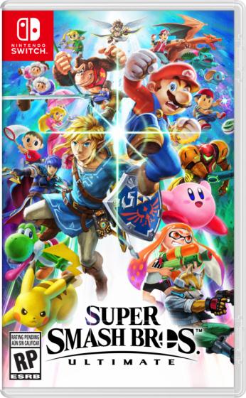 HEB: Nintendo Videojuego Super Smash Bros Ultimate switch y Mario Pachangas (Santander)