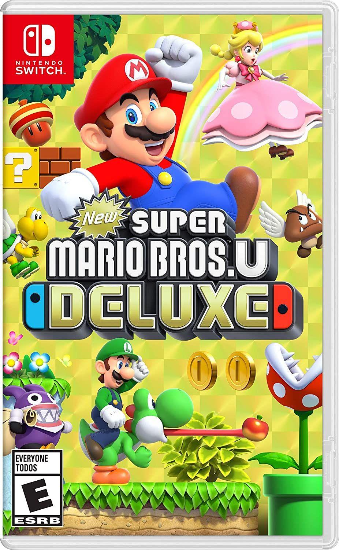 Amazon: New Super Mario Bros. U Deluxe - Nintendo Switch - Standard Edition (Santander)