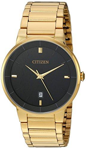 Amazon: Citizen - Reloj para hombre, esfera negra dorada