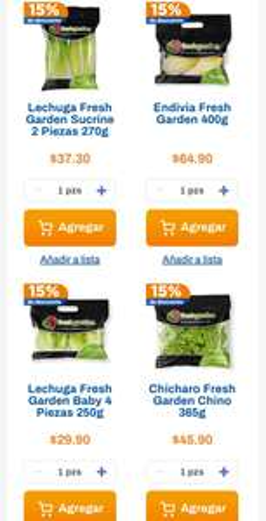 Chedraui: 15% de descuento en todos los productos Fresh Garden