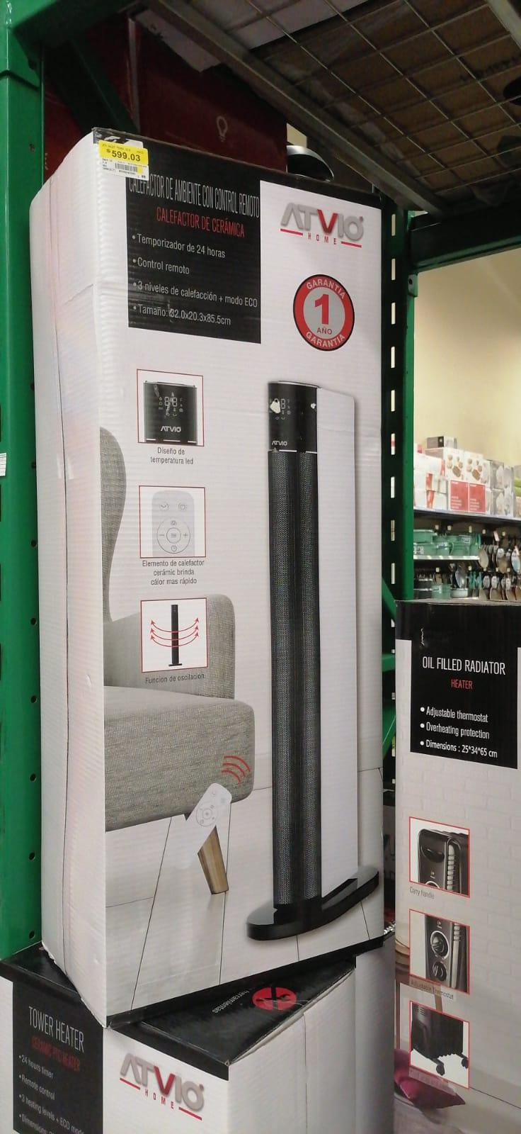 Walmart: Calefactor de Torre Atvio