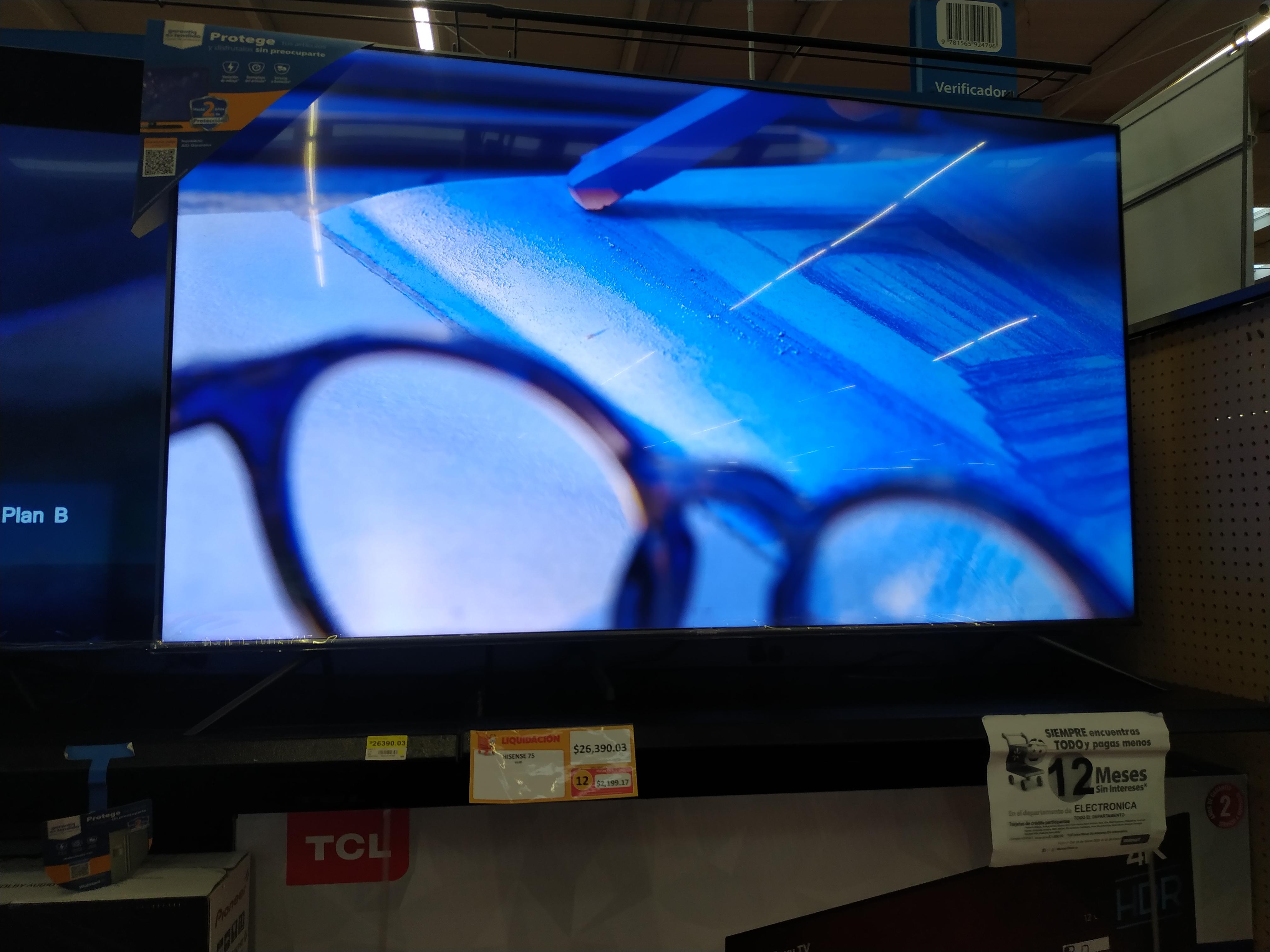 "Walmart Hisense 75"" H8G Uled"