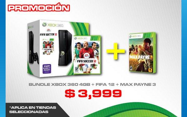 Gamers Retail: Max Payne 3 de regalo al comprar bundle de Xbox 360