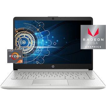 Linio: Laptop Hp 14 Ryzen 3-3250u 1TB/4GB (Con Bancomer Digital)