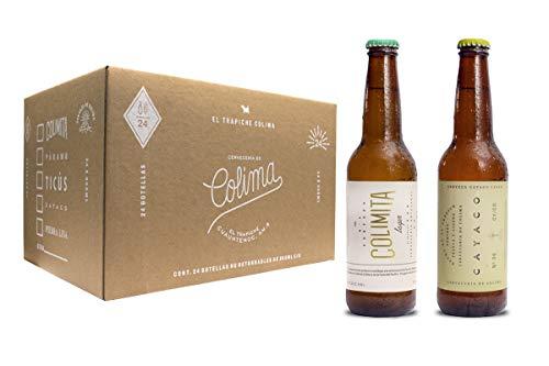 AMAZON: 24 Pack con 12 cervezas Colimita Lager y 12 cervezas Cayaco Lager Light (Prime)