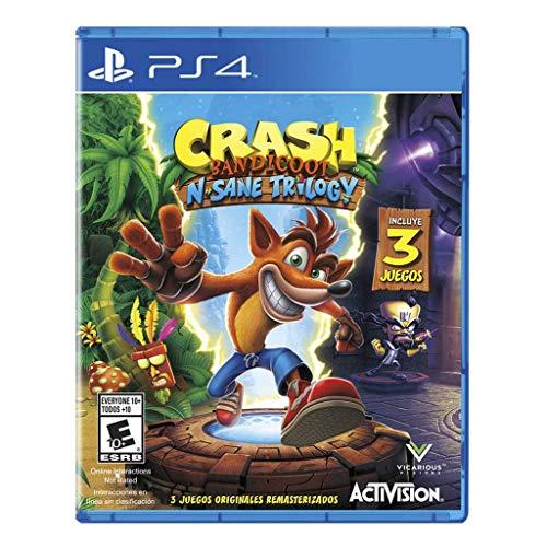 Amazon: Crash Bandicoot N. Sane Trilogy - PlayStation 4 - Standard Edition