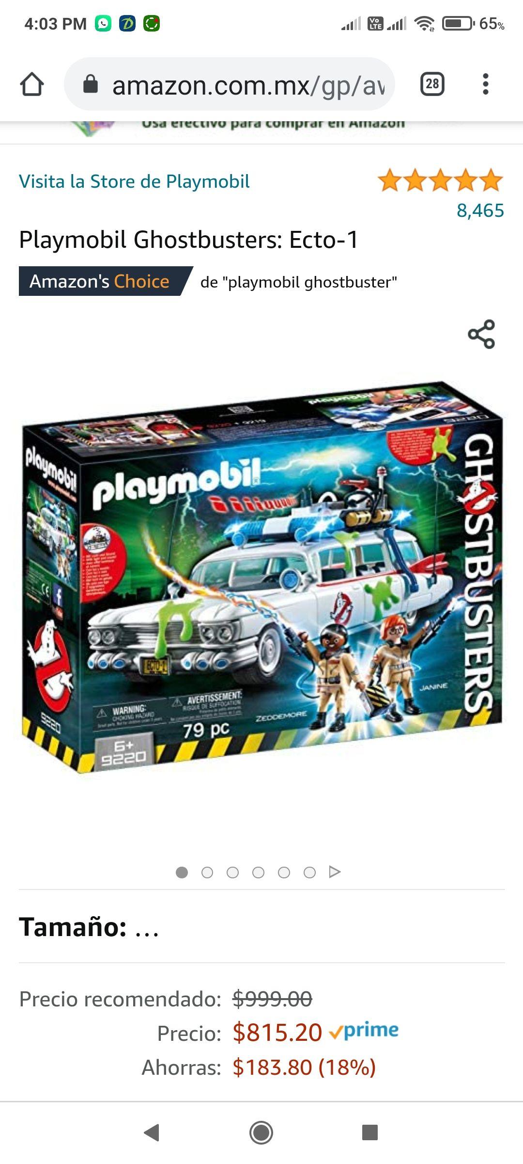 Amazon: Playmobil Ghostbusters: Ecto-1