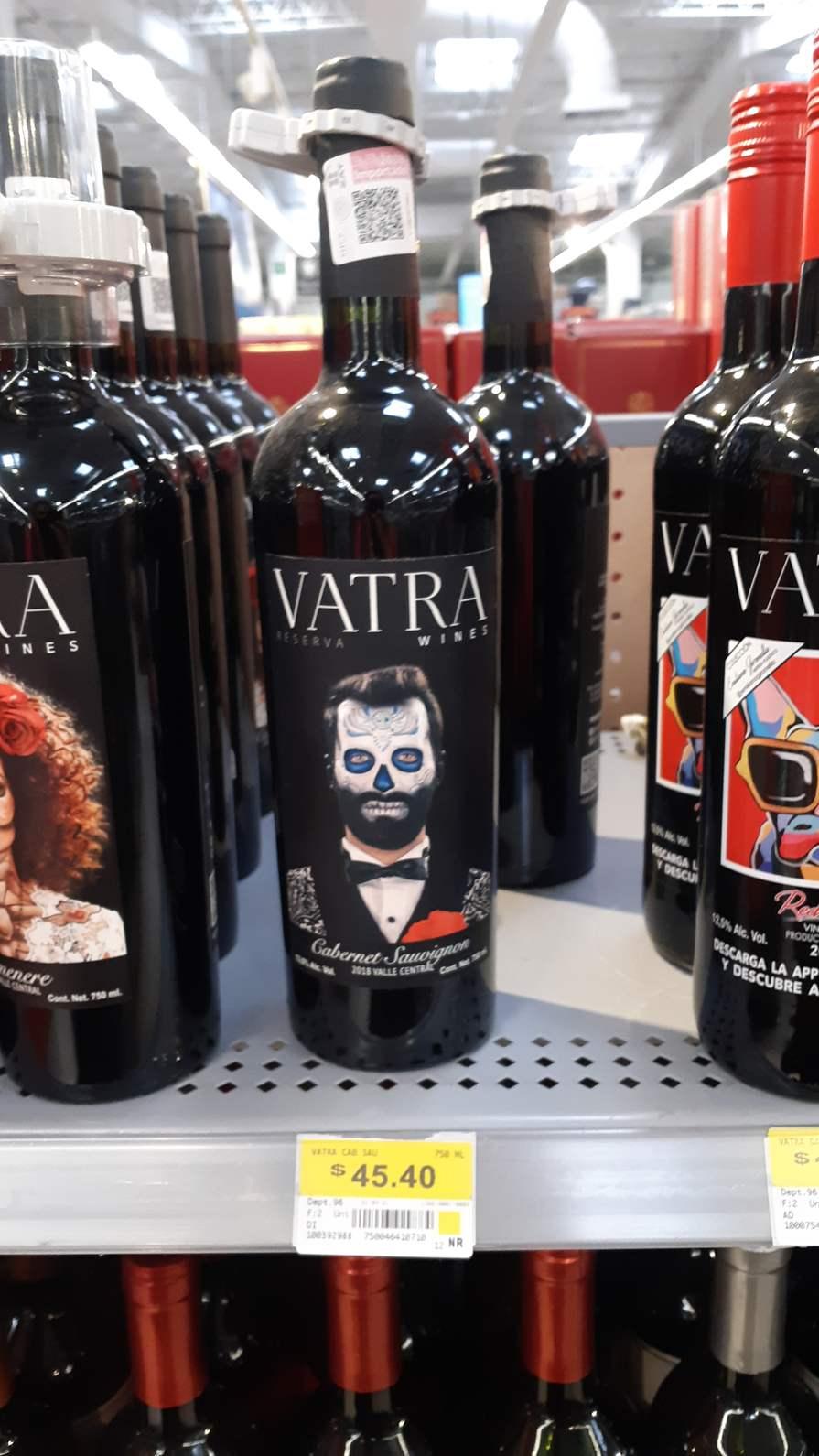 Walmart Puebla: Vino Vatra