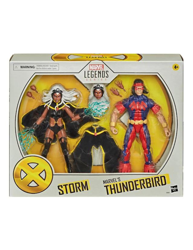 Liverpool: 2pack Marvel legends - Tormenta y Thunderbird