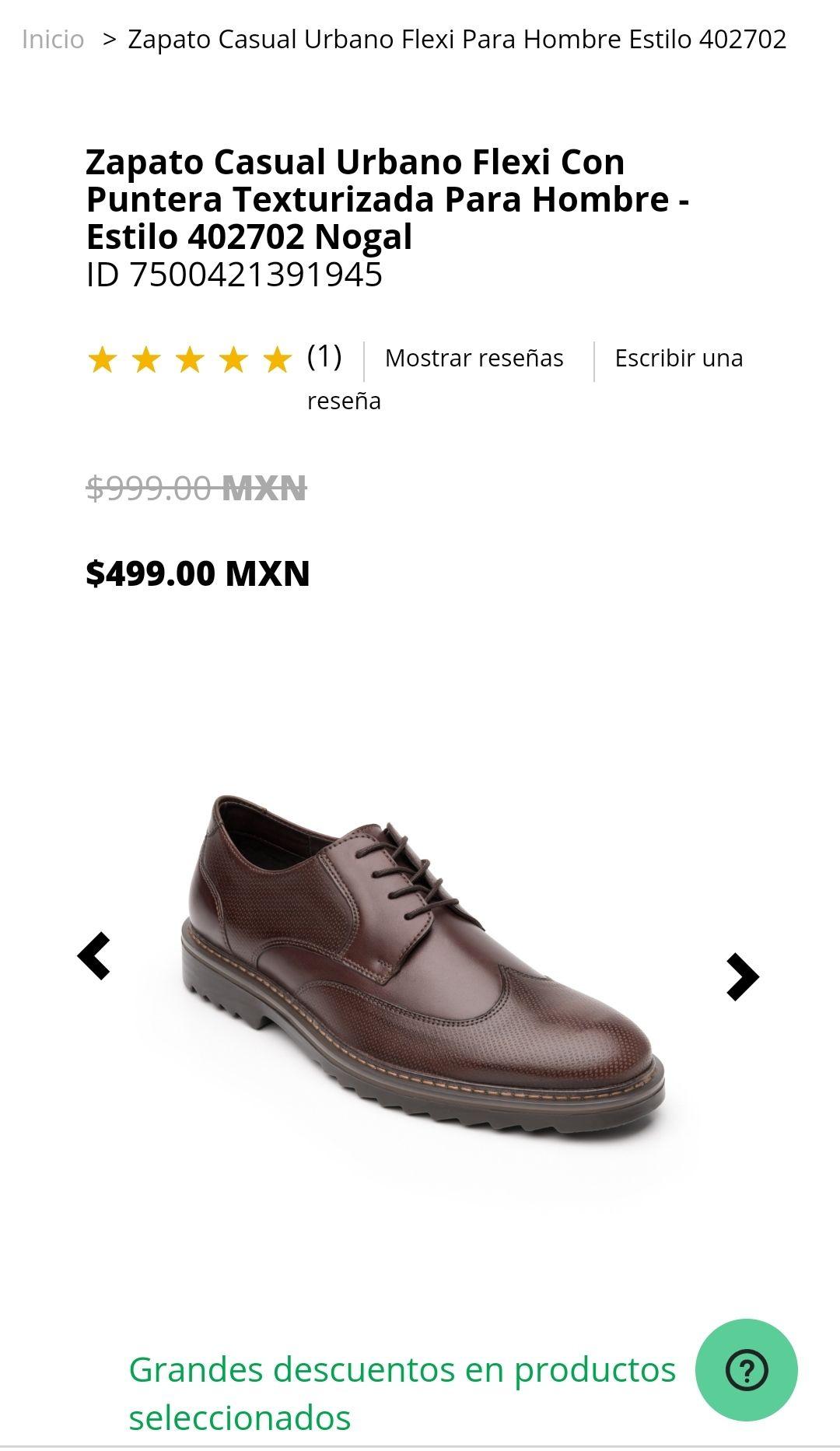 Flexi: Zapatos 50% descuento