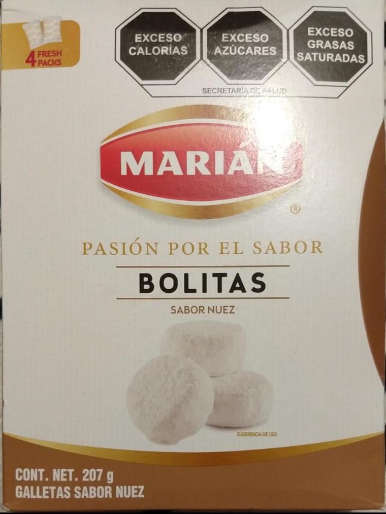 Superama Unidad Loreto: Bolitas sabor nuez Marían de $33.50 a $8.01