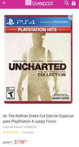 Liverpool, Uncharte collection ps4