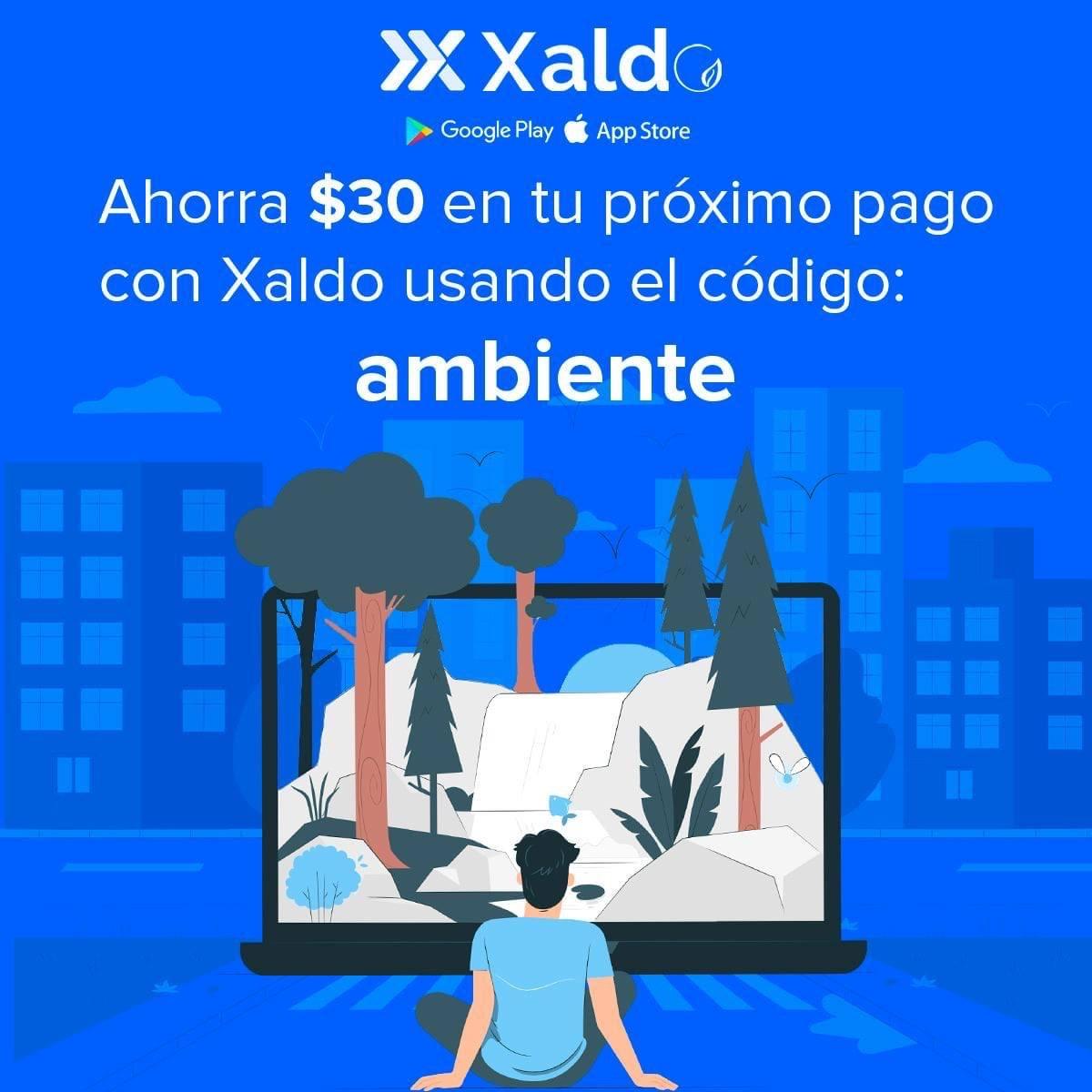 Xaldo: descuento de $30 al pagar servicio