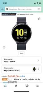 Amazon: samsung galaxy watch active 2