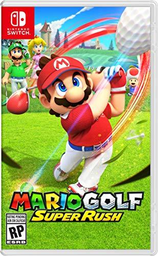 Amazon y Liverpool: Preventa - Mario Golf: Super Rush - Nintendo Switch - Standard Edition (En Liverpool $1068 con cupón pocketmenos5)