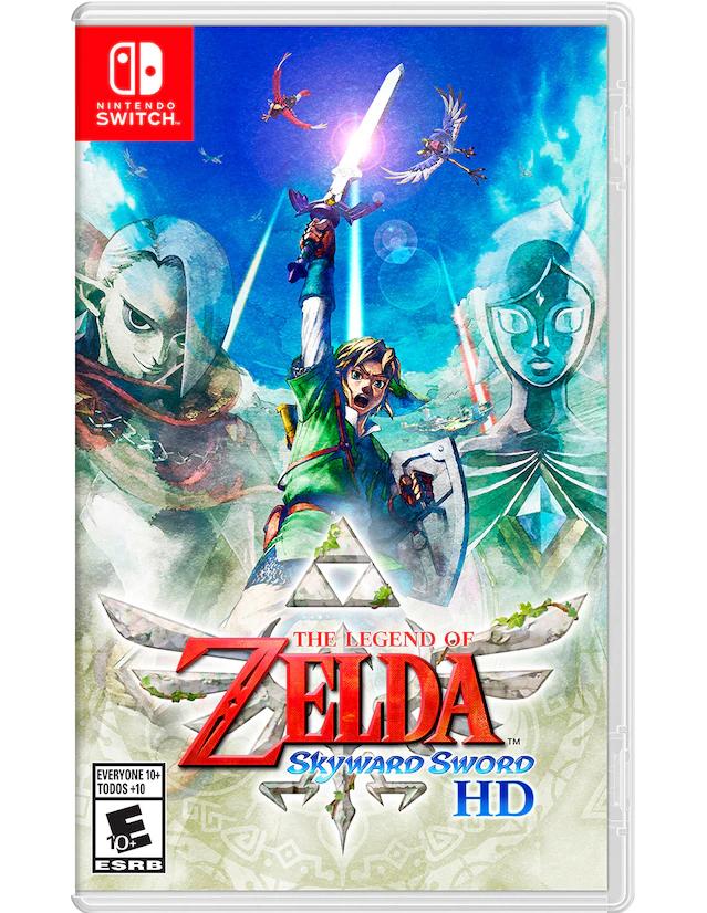Liverpool: The Legend of Zelda Skyward Sword HD para Nintendo Switch físico ($1139 con cupón pocketmenos5)