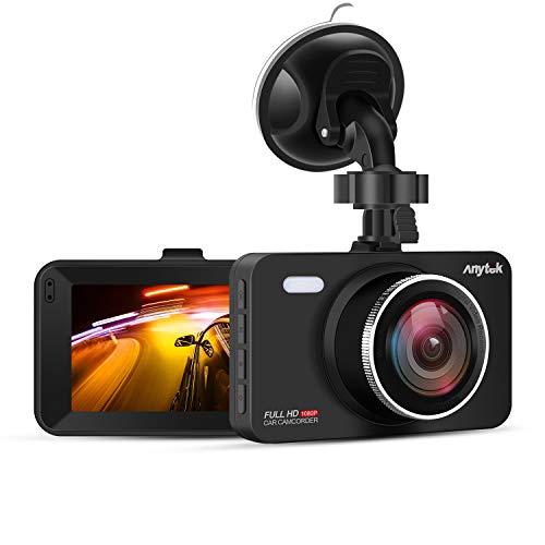 Anytek Cámara de Coche 1080P Full HD, Dash CAM
